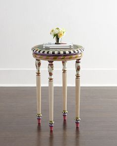 MacKenzie-Childs Summerhouse Accent Table