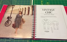 "happilycaffeinated: Finished Project: BurdaStyle Plus - ""Vintage Chic"" shirtdress"