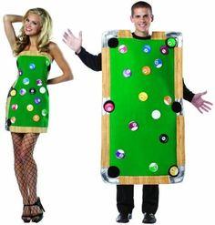 diy kleidung karnevalskostüme billardtisch und kleid