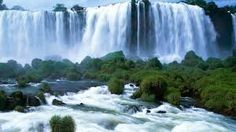 The Victoria Falls – A beautiful Waterfalls located on the border between Zambia and Zimbabwe. The waterfall has a width of about 1800 meters and a height of ab Beautiful Waterfalls, Beautiful Landscapes, Natural Waterfalls, Famous Waterfalls, World's Most Beautiful, Beautiful Places, Beautiful Scenery, Beautiful Pictures, Natural Scenery