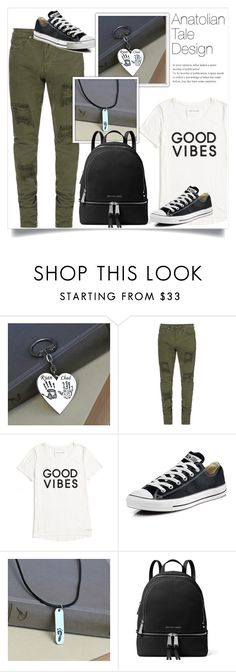 """""""Anatolian Tale Design 20"""" by amra-mak ❤ liked on Polyvore featuring Tommy Hilfiger, Converse, MICHAEL Michael Kors and anatoliantaledesigns"""