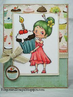 Forgotten Scraps: Cupcake Ruby