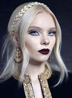 ballet-style eye makeup [super enlarging effect] - melis İlkkılıç