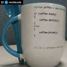 I hate programming but I can do it and get the jokes 😂😂 Computer Humor, Programming Humor, Computer Programming, Programming Languages, Visual Basic, Software Development, Linux, Geek Stuff, Mugs
