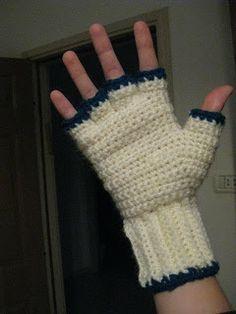 Crochet Patterns Mittens These mittens convert to fingerless gloves by pulling back the mitten top. Crochet Fingerless Gloves Free Pattern, Crochet Mitts, Crochet Headband Pattern, Fingerless Gloves Knitted, Knit Crochet, Crochet Patterns, Crochet Winter, Crochet Bags, The Mitten
