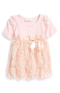 Popatu Soutache Short Sleeve Dress (Baby Girls) available at #Nordstrom