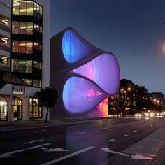 Museum of Performance and Design proposal by Architect Mark Dziewulski. @designerwallace