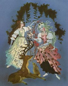 Snow White and Rose Red, Big Golden Book of Fairy Tales (1981)
