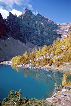 Banff in Autumn, Alberta, Canada by ©haddock, via Flickr