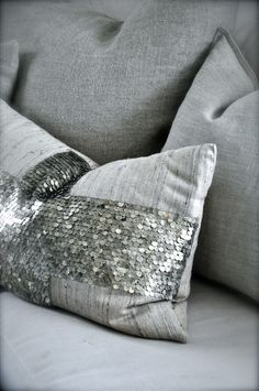 silver grey cushions with added sparkle - stuekroke 8.5.13 1