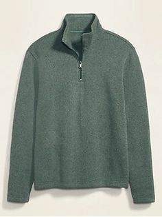 Men's Cardigans & Sweaters | Old Navy Zip Up Sweater, Sweater Cardigan, Shop Old Navy, Warm Sweaters, Fleece Fabric, Mock Neck, Zip Ups, Sweatshirts, Men's Cardigans