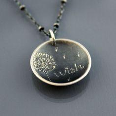 Wish pendant.