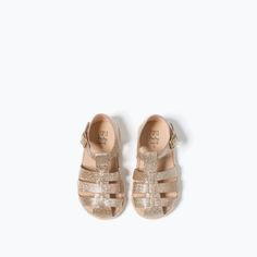 GLITTER STRAPPY SANDAL - SHOES - BABY GIRL   3 months - 3 years - KIDS   ZARA France