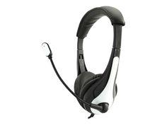 AVID AE-36 - Headset - on-ear - black, white