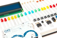 Arduino Starter Tool Kit. Photo Monica Tarocco