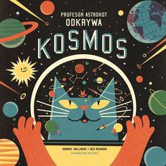 Profesor Astrokot odkrywa kosmos - książki dla dzieci   ambelucja.pl