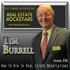 Tim Burrell has been a Realtor since 1979 and a California Attorney since 1973. He has sold multi-million dollar luxury homes on one end of the spectrum and under $25,000 bank owned properties (REOs) on the other. He represents first time homebuyers and investors with many, many properties... #realestate #podcast #pathiban #hibandigital #hibangroup #HIBAN #realestatesales #realestateagent #realestateagents #selling #sales #sell #salespeople #salesperson #timburrell