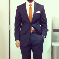 found the  orange tie and outfit for the weeding next weekend..... soooo you...