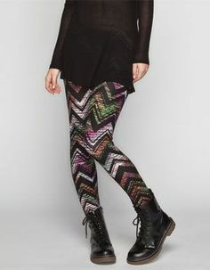 FULL TILT Floral Print Womens Leggings 236498100 | Leggings | Tillys.com