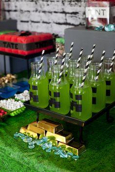 Minecraft Birthday Party Birthday Party Ideas