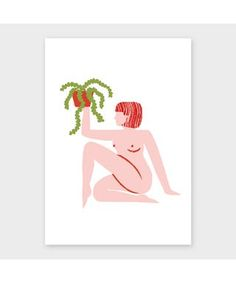 Shop 'Hertha' by Lucy Ketchin from The Archipelago Press in Limited edition prints, available on Tictail from Room With Plants, Archipelago, Personalized Gifts, Disney Characters, Fictional Characters, Unique Gifts, How To Draw Hands, Alice