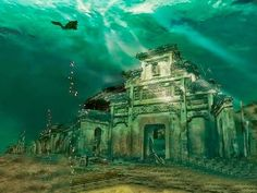 Ancient Underwater City, China ~ Amazing World