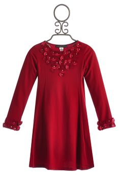 Biscotti deck the halls girls dress in silver christmas dresses for