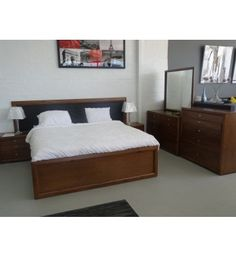 Belmont- Belmont Suite, Available in King & Queen,  4 Storage Drawers on side of Bed, Bedside,  Tallboy and Dresser & Mirror also Available.   Solid Chestnut Timber, Walnut Stain - See more at: http://bedroomtrends.com.au/index.php/bedroom-furniture/contemporary-modern-bedroom-furniture/belmont.html#sthash.QblcHeiH.dpuf