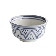 Nougat: Kattaus - Marokkolainen kulho 10cm sininen