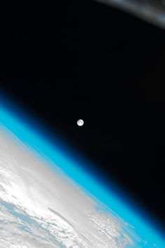 Universe Astronomy Beautiful moon above and beyond the thin blue line of our existence. Cosmos, Beautiful Moon, Beautiful World, Phoenix Legend, Across The Universe, Space And Astronomy, Earth From Space, Jolie Photo, To Infinity And Beyond