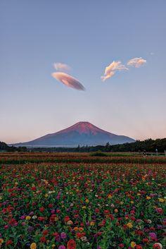【山 Mountain】 wonderous-world: Yamanakako Village, Japan by Yuga Kurita