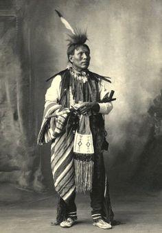 Little Bear, Arapahoe. Photo 1898.