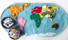 Animals of Asia for the Montessori Wall Map & Quietbook with Printables. AMAZING!!! Holy smokes!