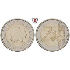 Luxemburg, Henri, 2 Euro 2005, bfr.: Henri seit 2000. 2 Euro 2005. Großherzog Henri - Großherzog Adolphe. bankfrisch 5,00€ #coins