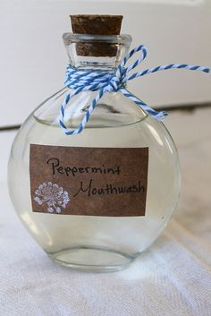 DIY Peppermint Mouthwash | The Dabblist