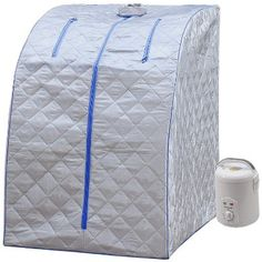 online shopping for Durherm Portable Personal Therapeutic Spa Home Steam Sauna Weight Loss Slimming Detox (Blue Outline) from top store. See new offer for Durherm Portable Personal Therapeutic Spa Home Steam Sauna Weight Loss Slimming Detox (Blue Outline) Portable Infrared Sauna, Portable Steam Sauna, Home Steam Sauna, Sauna Kits, Tent Reviews, Steam Generator, Foldable Chairs, Sauna Room, Best Gifts For Her