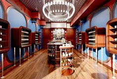 New Diptyque store in Chicago (Wicker Park), by Jenner Studio