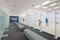 Bay Club Cupertino spans three floors and square of fitness space, group training, squash, and lifestyle amenities including an on-site Starbucks. Squash Game, Squash Club, Outdoor Swimming Pool, Swimming Pools, Martial Arts Gym, Squash Rackets, Dream Gym, Youth Center, Sports Stadium