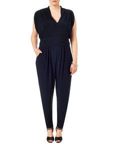Studio 8 plus size zena navy blue jumpsuit Figure Flattering Dresses, Size 16 Dresses, Dress Up, Jumpsuit, Product Launch, Studio, How To Wear, Kingston, John Lewis
