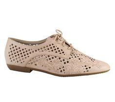 Sapato oxford couro flower com recortes a laser   Sapatos   Bottero Calçados
