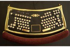エルゴノミクスなゴージャススチームパンクキーボード   roomie(ルーミー)