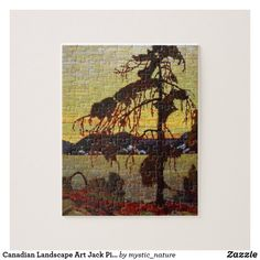 Canadian Landscape Art Jack Pine by Tom Thomson Jigsaw Puzzle Canadian Painters, Canadian Artists, Led Display Board, Tom Thomson Paintings, Canadian Gifts, Led Diy, Diy Clock, Classic Paintings, Gifts For Nature Lovers