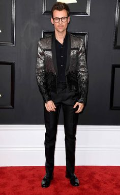 Brad Goreski from Grammys 2017 Red Carpet Arrivals