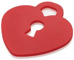Sottopentola silicone Love Key