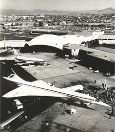 BRITISH AIRWAYS CONCORDE Las Vegas  New York JFK airplane Press photos
