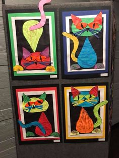 Same shapes, lots of different cats. What flexible thinking!