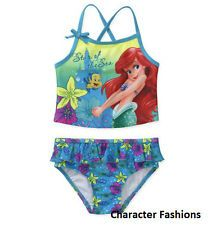 little girls bathing suits size 5 | ... PRINCESS Size 5T Girls SWIM BATHING SUIT ONE PIECE My Little Mermaid