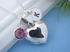Solid+Sterling+Silver+Heart+locket++Necklace+by+MonyArt+on+Etsy,+$36.80