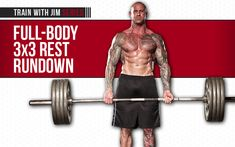 Full-Body 3x3 Rest Rundown