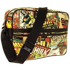 Marvel Retro Collection Messenger Bag